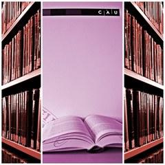 Illustration der Bibliotheksbücher